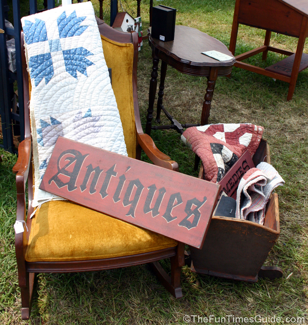 Special touches that can result in more sales and a better for Furniture yard sale