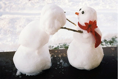 Snow people reproduction is SFW