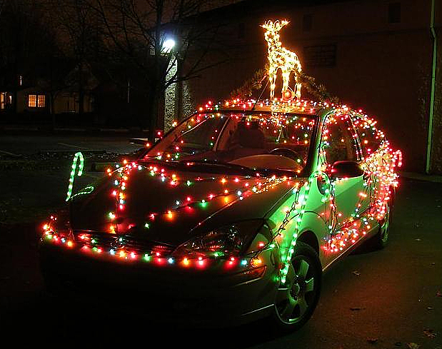 car christmas lights by Sterin Car Decorations Christmas | Decoration0