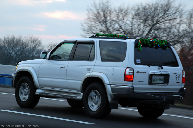 car suv christmas roof rackjpg