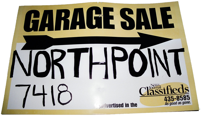Free Clip Art Yard Sale Sign