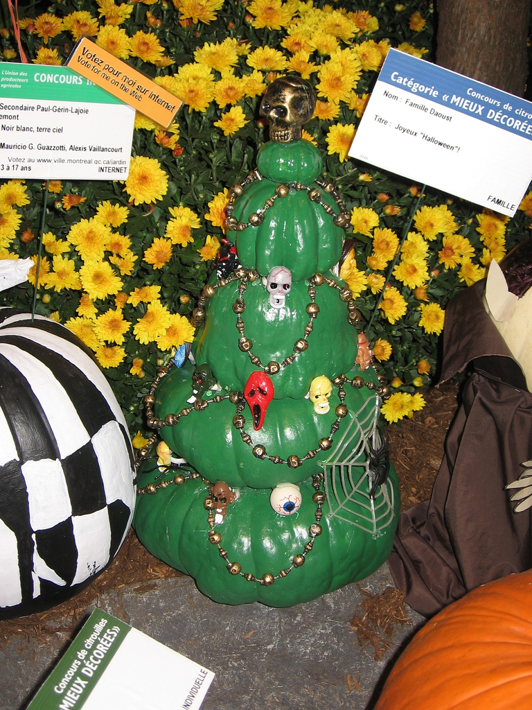 Halloween trees they re more than just christmas trees with