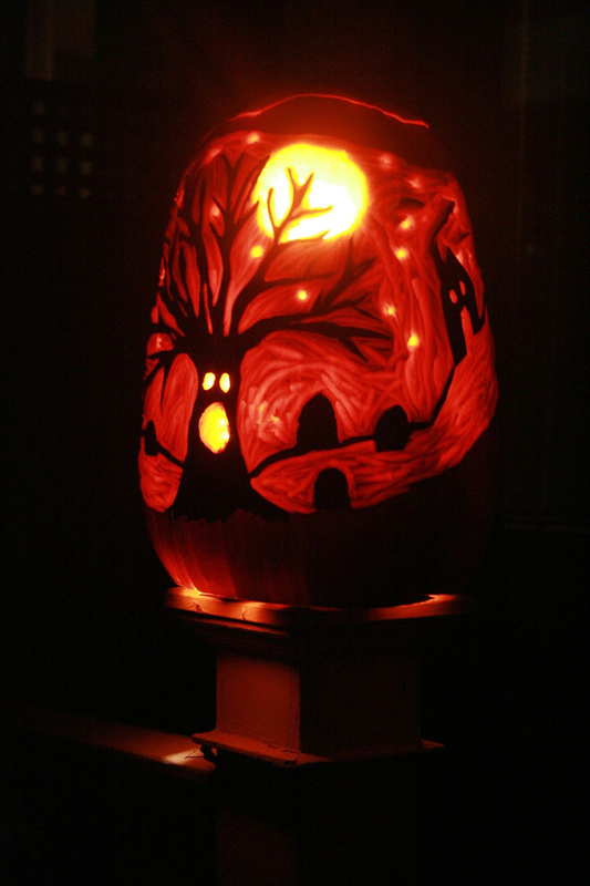 The coolest halloween pumpkins i 39 ve ever seen the for The coolest pumpkin carvings