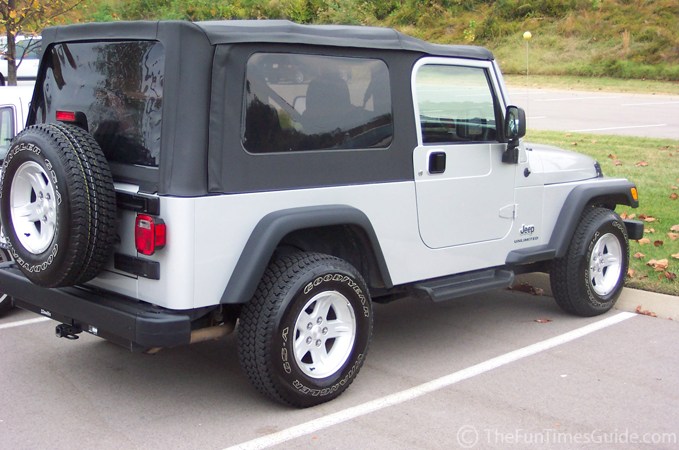 Jeep With Soft Top On