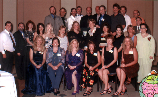 Jim's 20th high school reunion was held in Ft. Lauderdale, Florida ...