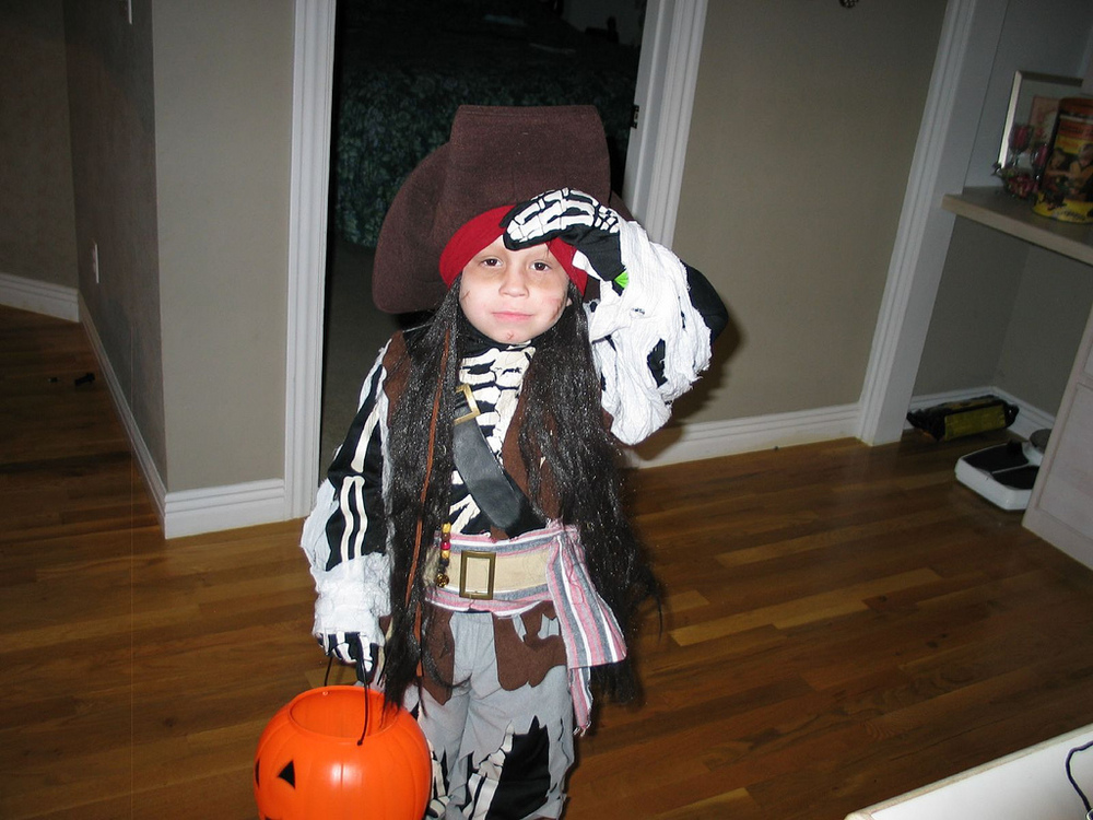 Hundreds of kids halloween costumes you can make yourself the kids pirate halloween costume by timncjg solutioingenieria Gallery