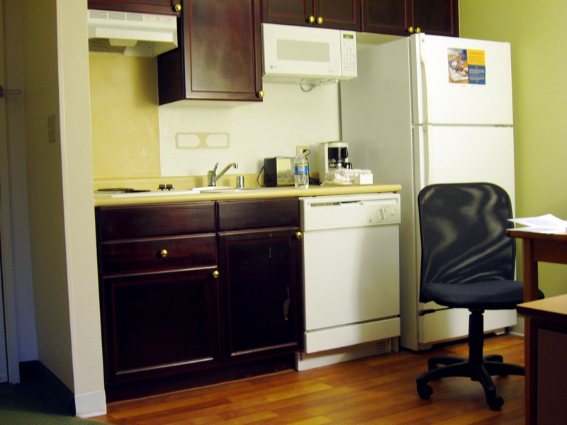 attractive Extended Stay Hotels With Kitchens #3: ... kitchenette-in-extended-stay-hotel-by-pfhyper.jpg