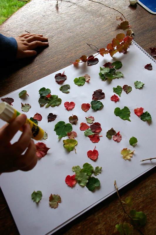 4 DIY Autumn Home Decor Craft Ideas Using Leaves - The Fun Times ...
