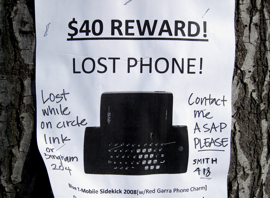 How to find a lost phone with the phone number