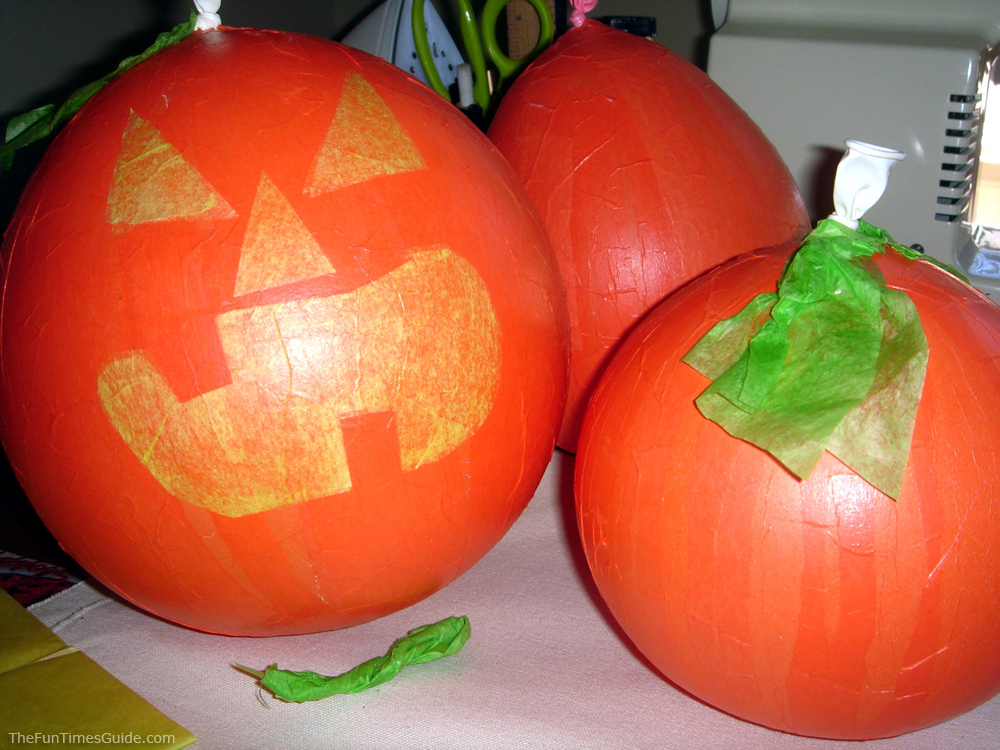 Easy halloween crafts amp decorations make paper mache