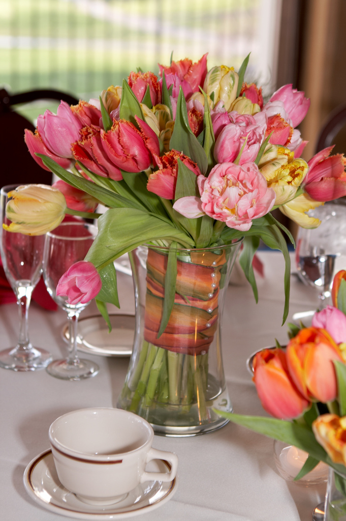 Flowers for a spring wedding are definitely a matter of personal ...