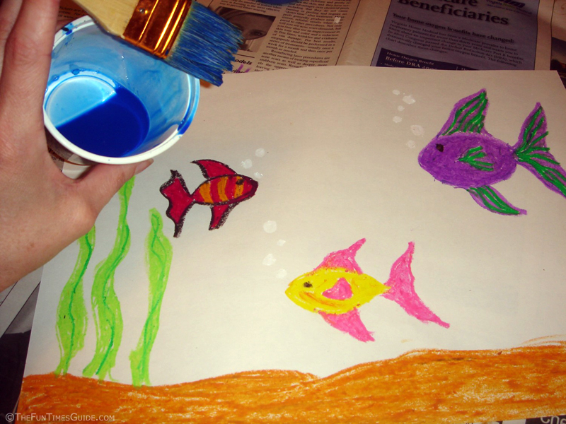 How To Make Magic Underwater Paintings The Art And