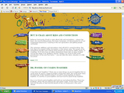 Website we created to inform the public and church members about the 'Crazy Campaign'.