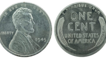 1943 Silver Pennies