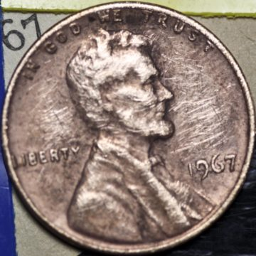Some 1967 pennies are worth thousands, but all are worth more than face value. how much is yours worth?