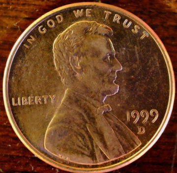 1999 Penny Value