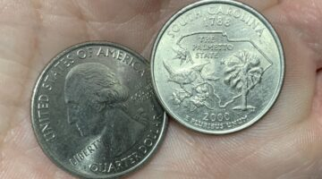2000 South Carolina Quarter Errors