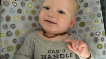 Baltic Amber Teething Necklace Review: My Baby's Got 5 Teeth & Has Never Had A Fever Since Wearing A Baltic Teething Necklace