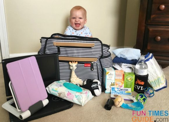 What's In Your Diaper Bag? Here's What's In My Diaper Tote For A 7-Month-Old Baby
