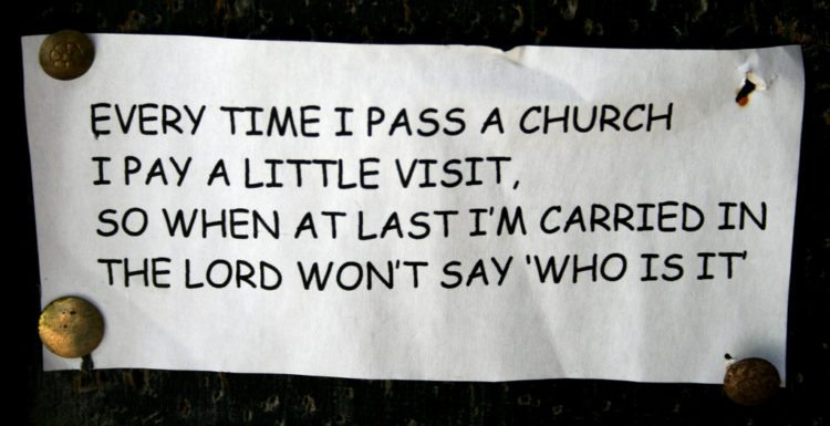funny church bulletins - funny church announcements