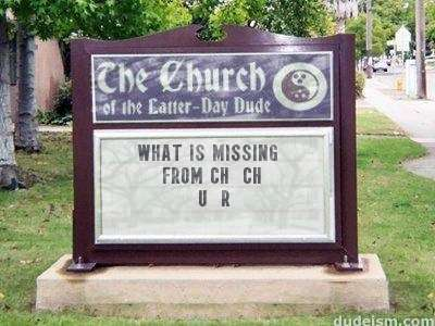 funny church signs made with fun sign maker - free church sign maker