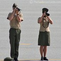 Official marine photographers.