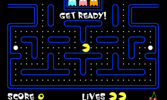 Online play pacman MS PACMAN