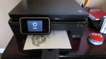 HP Photosmart 6520: An Inexpensive Printer Scanner Copier That Does It All (Even Faxes)… And It's Fast Too!