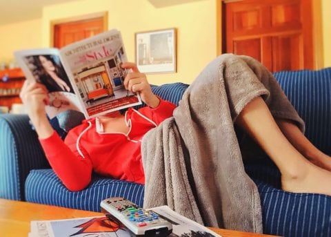 Spend a lazy day at home doing whatever you want to do!