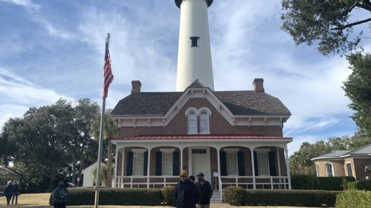 Saint Simons Light is just one of many attractions you'll find on Saint Simons Island and nearby Jekyll Island, Georgia.