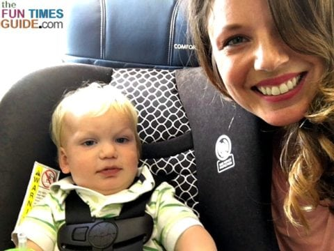 If you've scored an extra seat or bought a seat for your infant on the plane, then taking your baby's car seat makes sense -- it's familiar and comfortable for them, and it keeps them safe from unexpected turbulence.