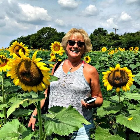 Fun summer activities for adults... pick flowers, or take photos of fun flowers!