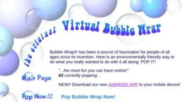 Online Bubble Wrap Games For Hours Of Bubble Popping Fun!